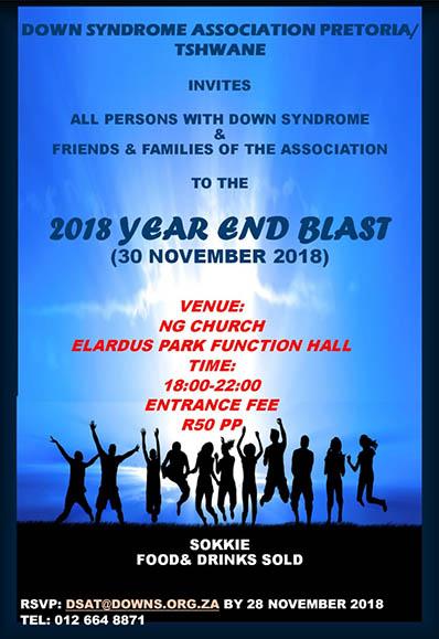 Year End Blast Invite
