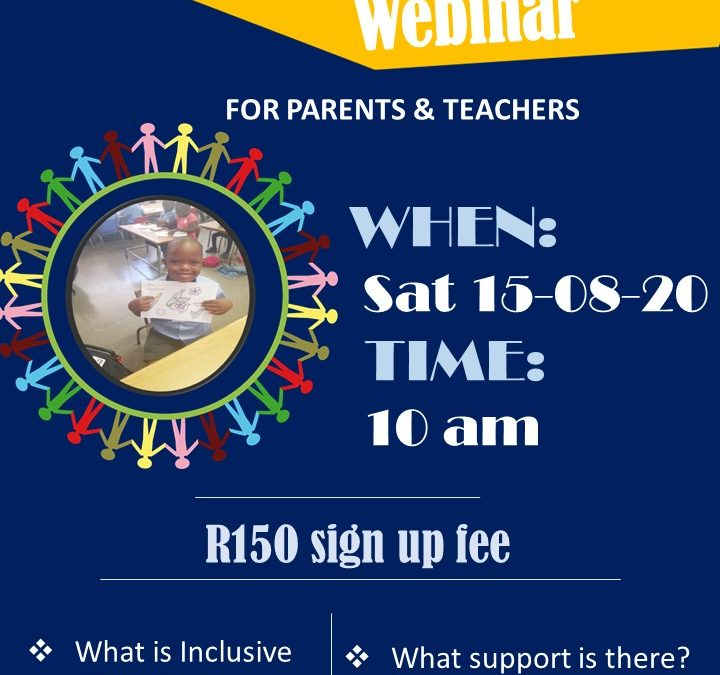 Inclusive Education Webinar invite
